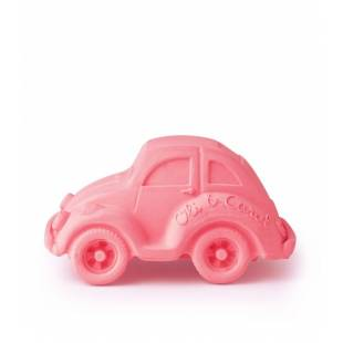 VOITURE COCCINELLE - ROSE