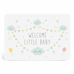 CARTE WELCOME LITTLE BABY