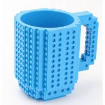 TASSE BRIQUE DE CONSTRUCTION - BLEUE