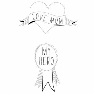 Tatouages Love Mom (by Sarah Livescault)