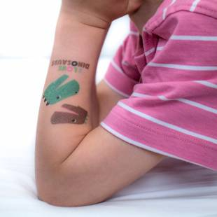 Tatouages Dinosaures (by Mélusine Allirol)