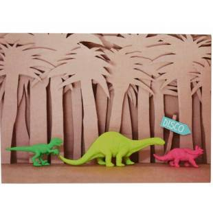 Cartes d'invitation Dino My Little Day