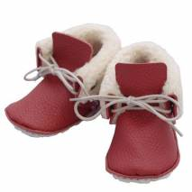 CHAUSSONS/CHAUSSURES DIY - Rie Rouge