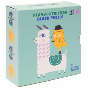 BABY BLOCKS - PEANUTS FRIENDS