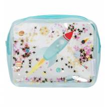 TROUSSE DE TOILETTE PAILLETTES - SPACE