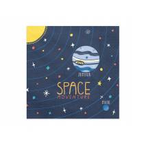 20 SERVIETTES - SPACE PARTY